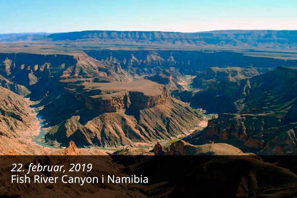 Blog - Fish River Canyon, Namibia