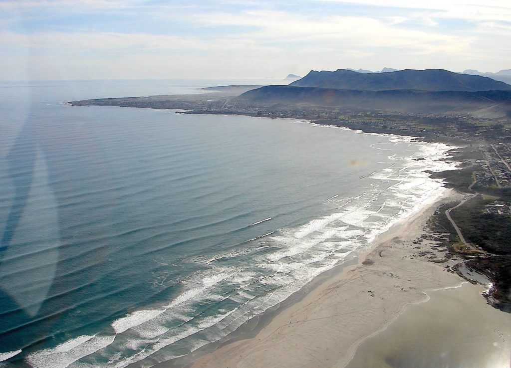 Grotto Beach, Hermanus i Sydafrika
