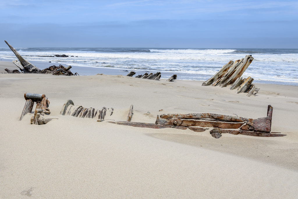 Skeleton Coast, Skeletkysten, Namibia