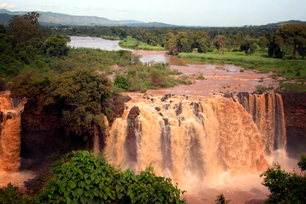 Blue Nile Falls, Etiopien, Lake Tana