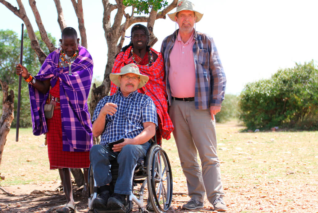 Handicap, safari, masai