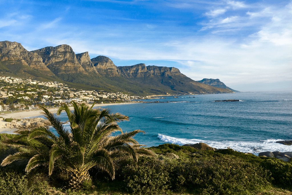 Camps Bay i Sydafrika